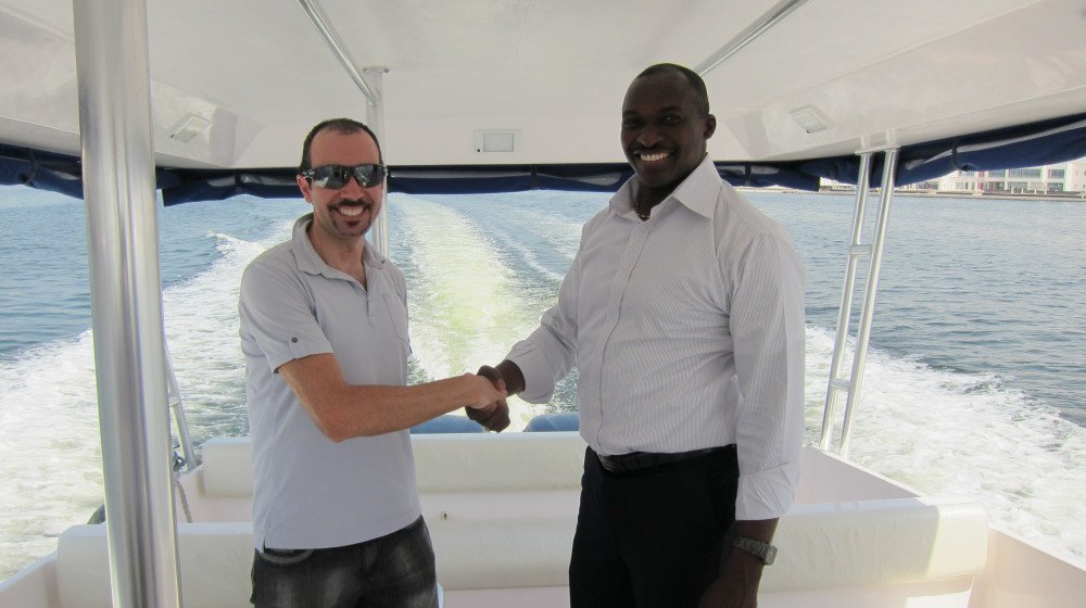 Sea Coach Express - Le capinaine Olusegun Jaji