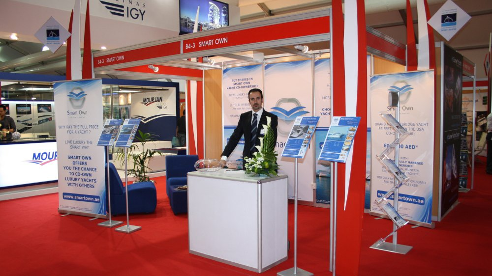 Smart Own at the Dubai Boat Show