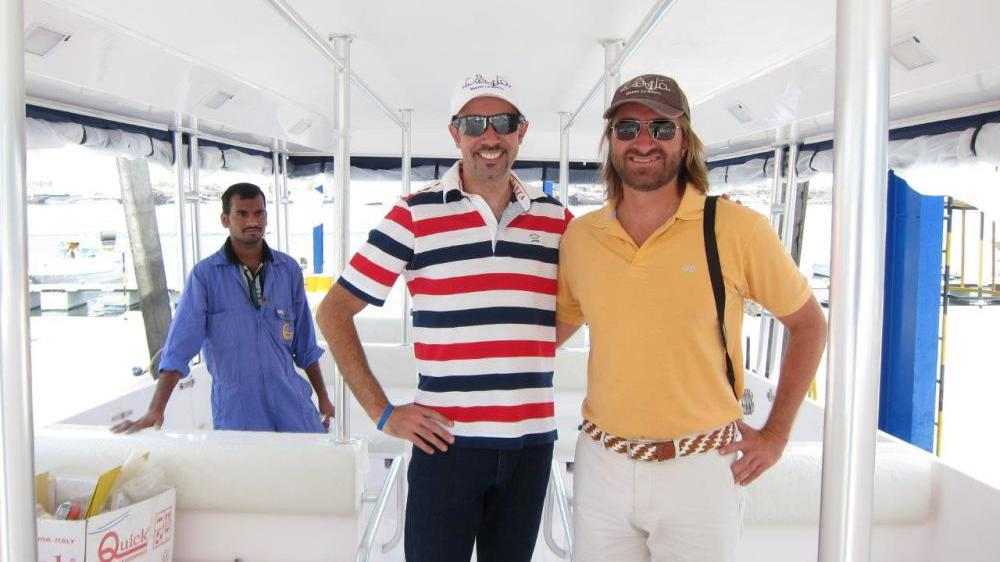 Essais en mers à Wahoo Express, Cancun Mexique