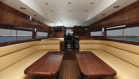 Sea Lounge 40 - Business class passenger Boat