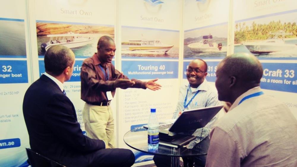 Smart Own and Gulf Craft at KITE 2015 Nairobi Kenya