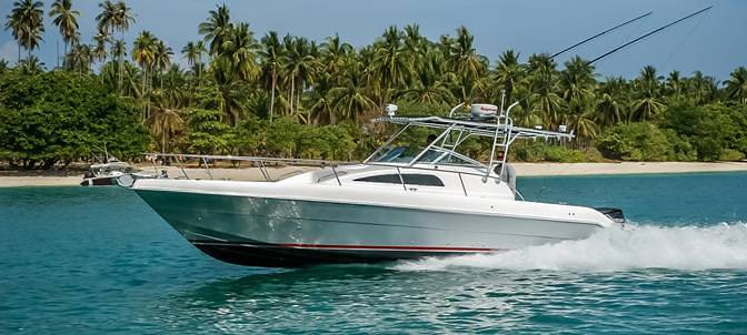 Fishing motor boat - Silver Craft 33