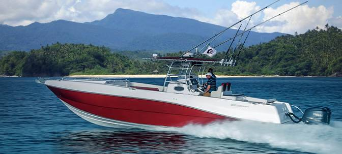 Fishing motor boat for sale - Silver Craft 36 CC