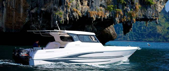 Fishing speed boat - Silver Craft 36 HT