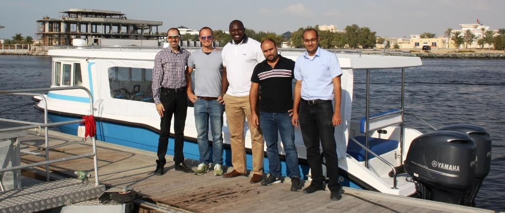 O time por detrás do projeto do JAJI 31 com o Capitão Olusegun Jaji