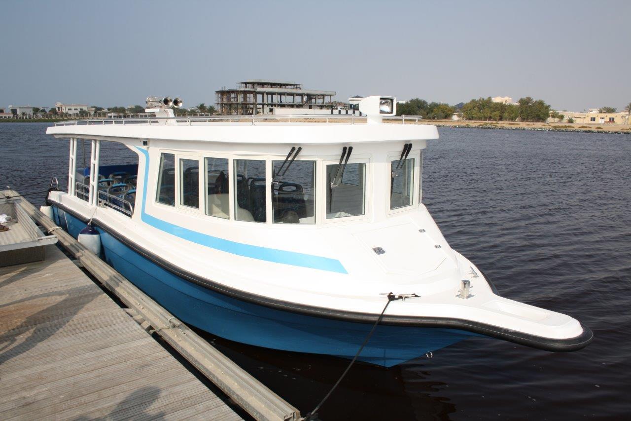 JAJI 31 Water Taxi Boat