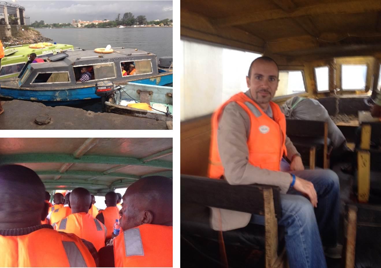 Lagos water transport visit