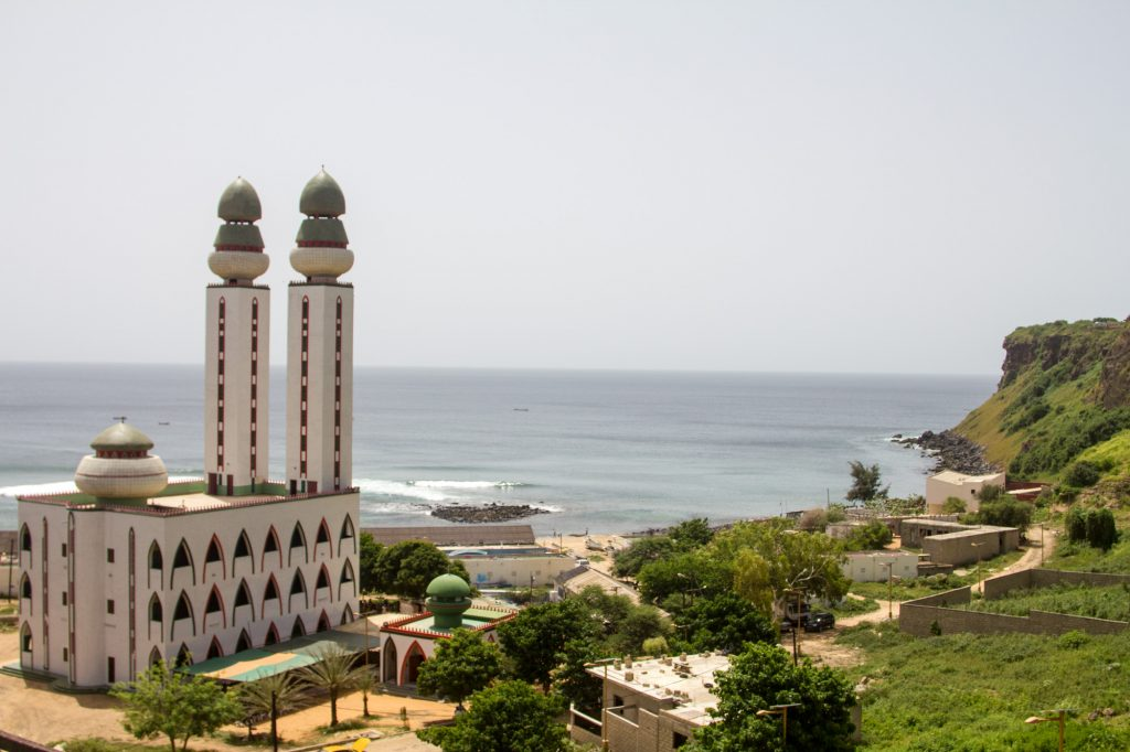 Dakar Mosque Seashore