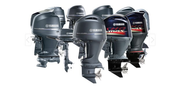 Yamaha two stroke and four stroke engines for sale in Dubai